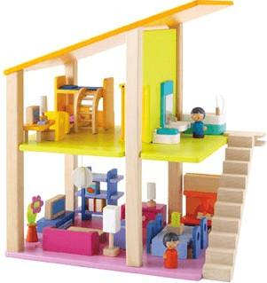 Sevi Puppenhaus klein inkl. Möbel B