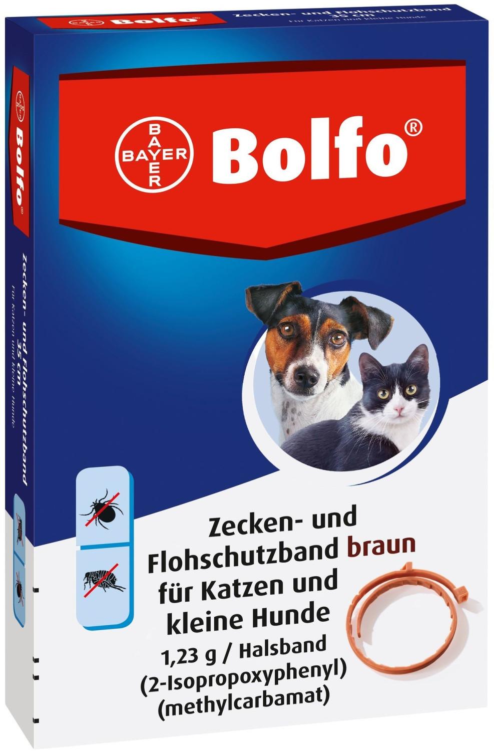 Bayer Bolfo Flohschutzband braun für Katzen und...