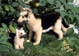 Kösener Schäfer-Hund 44 cm