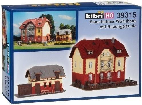 Kibri Eisenbahner Wohnhaus mit Nebengebäude (39...