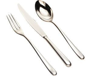 Alessi Caccia Stainless Steel 18/10 24 Piece Cutlery Set