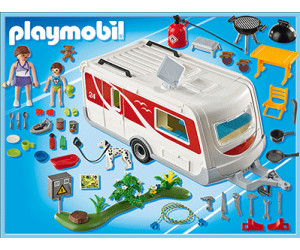 playmobil summer fun familien caravan 5434 ab 110 00 preisvergleich bei. Black Bedroom Furniture Sets. Home Design Ideas