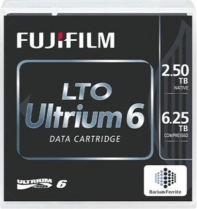Fujifilm LTO6 Ultrium Cartridge 2.5TB/6.25TB