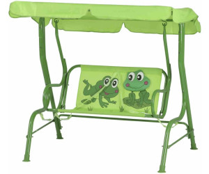siena garden froggy kinder hollywoodschaukel ab 69 85 preisvergleich bei. Black Bedroom Furniture Sets. Home Design Ideas