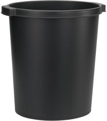 Atlanta Papierkorb Recycling-Kunststoff schwarz...