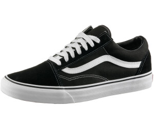 Vans Old Skool Canvas black/true white au meilleur prix sur ...