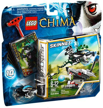 LEGO Legends of Chima L'expulsion Chi (70107)