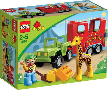 LEGO Duplo - Le Transport du cirque (10550)