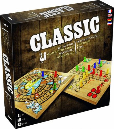 Asmodée Classic - Gansespiel / Ludo