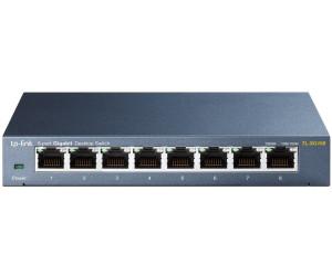 TP-LINK 8-Port Gigabit Switch (TL-SG108)