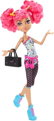 Monster High Monster High Howleen Wolf Hip Hop