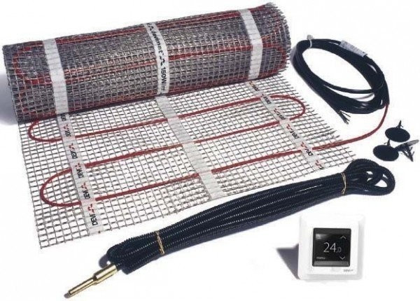 Devi Dünnbett-Set mit DEVIreg Touch 1-1500 (150...