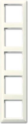 Jung Rahmen weiß 5fach (AS 585 BF)