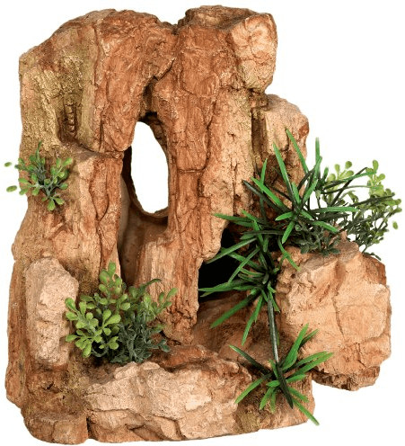 Nobby Aqua Ornaments ´´FELS´´ mit Pflanzen