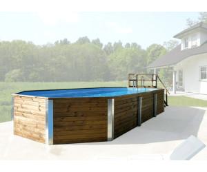 Weka korfu ii pool 850 x 376 x 116 cm ab for Garten pool korfu 1