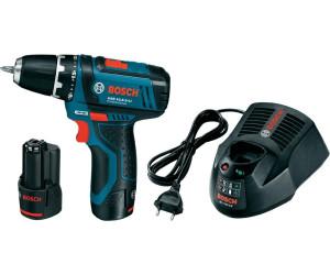 Bosch GSR 12V 15 2 LI Professional 2 x 2,0 Ah + L Boxx (0