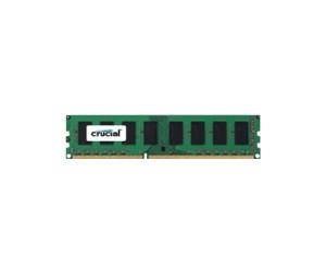Crucial Simm Memoria RAM, DDR3, PC1600, 4GB, CL11