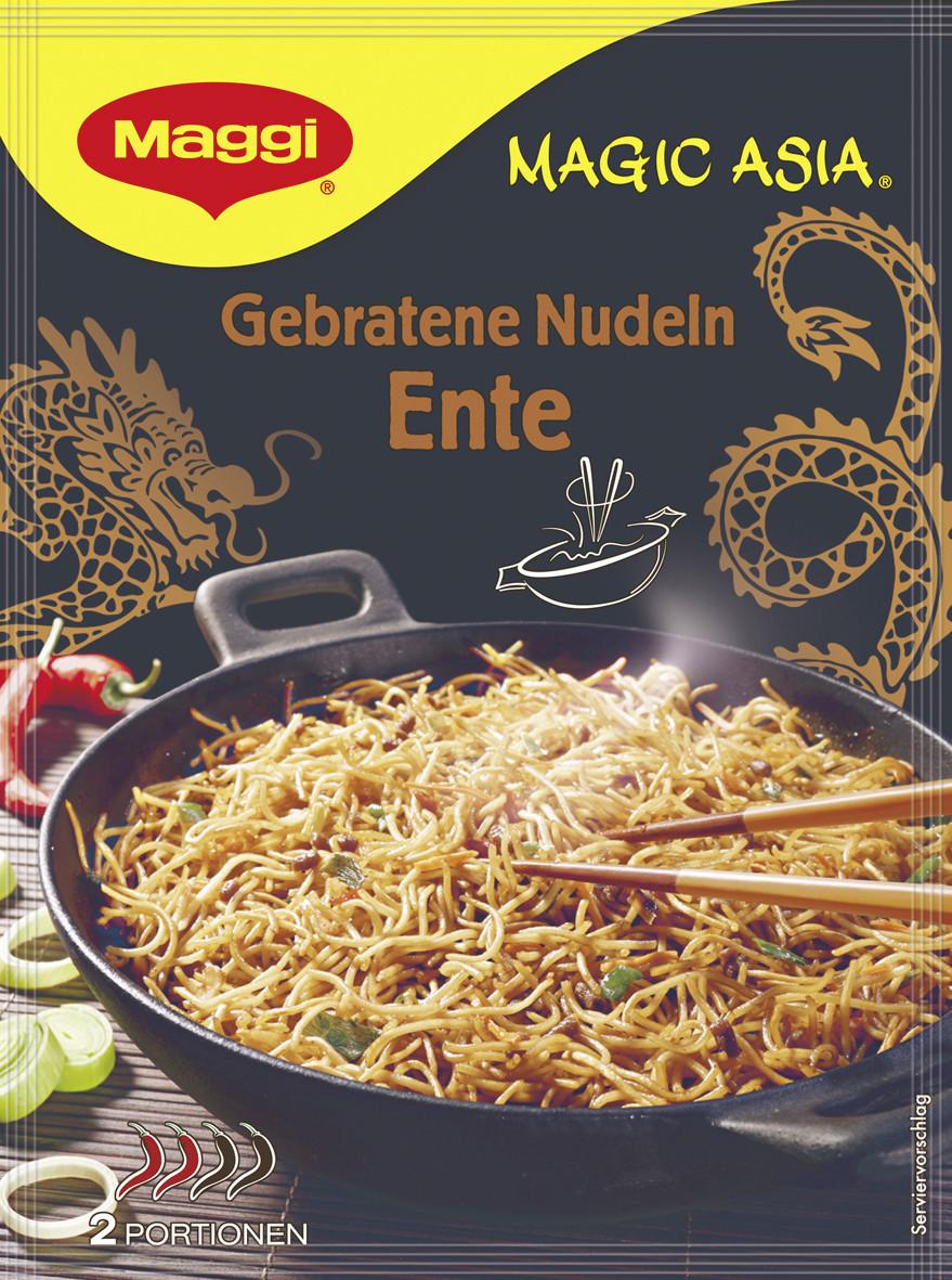 Maggi Magic Asia: Gebratene Nudeln Ente