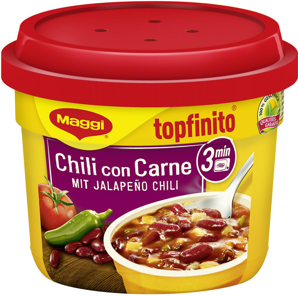 Maggi Topfinito: Chili Con Carne mit Jalapeño Chili (380g)