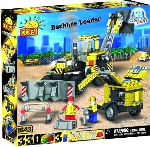 Cobi Action Town - Backhoe Loader (1643)
