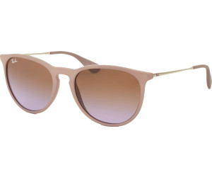 Buy Ray-Ban Erika RB4171 6000 68 (dark rubber sand gradient brown ... e0bccffa61