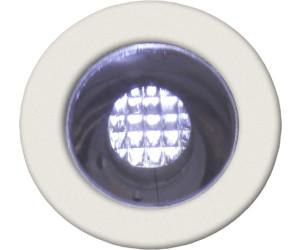 BRILLIANT COSA 30 LED Einbauleuchte 10er Set Edelstahl Blau
