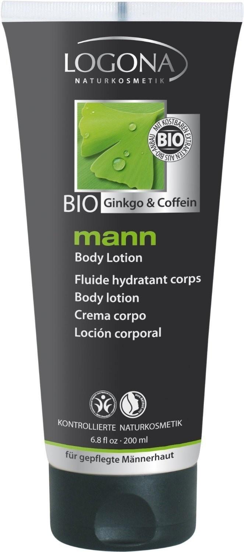 Logona Mann Bio Ginkgo & Coffein Shampoo & Duschgel (200 ml)