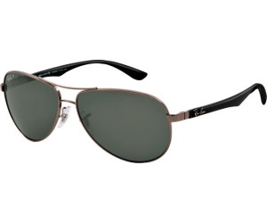 8f39e596fbe76 Ray-Ban Carbon Fibre RB8313 RB8313 004 N5 (shiny gunmetal green polarized)