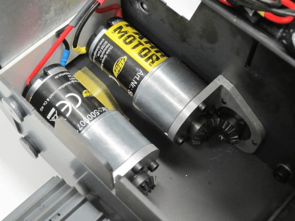 Carson Fahr-Getriebemotor Liebherr Laderaupe (907106)