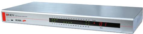 Lindy KVM Switch CAT-32 IP, PS/2 & USB Console (39631)