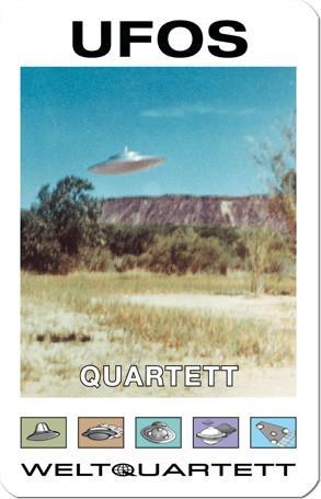 Weltquartett Ufos-Quartett