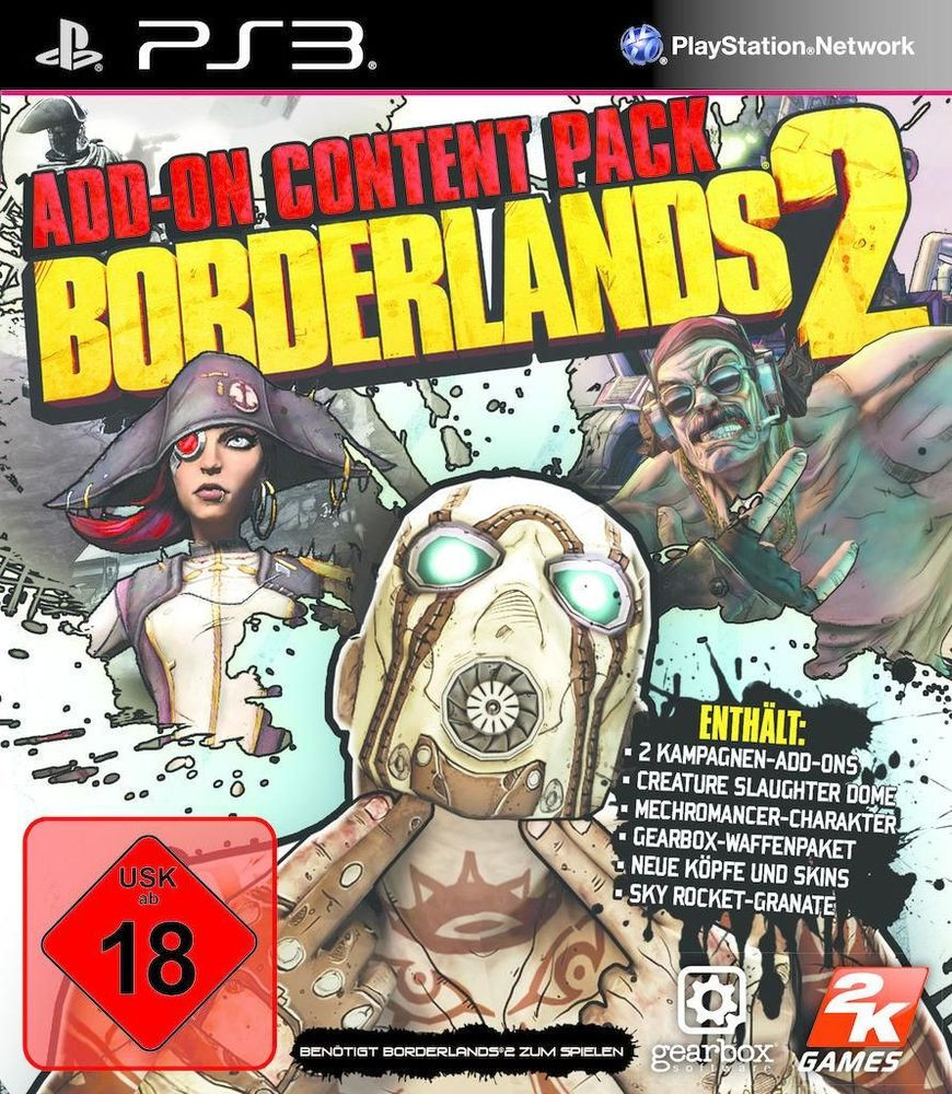 Borderlands 2: Add-On Content Pack (PS3)