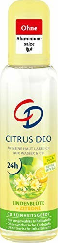 CD Citrus Deo Zerstäuber Lindenblüte & Zitrone (75 ml)