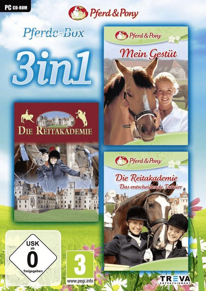3 in 1: Mein Gestüt + Die Reitakademie + Die Re...
