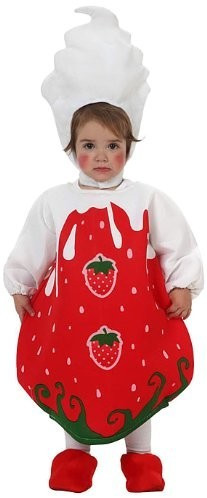 Atosa Verkleidung Erdbeere Baby