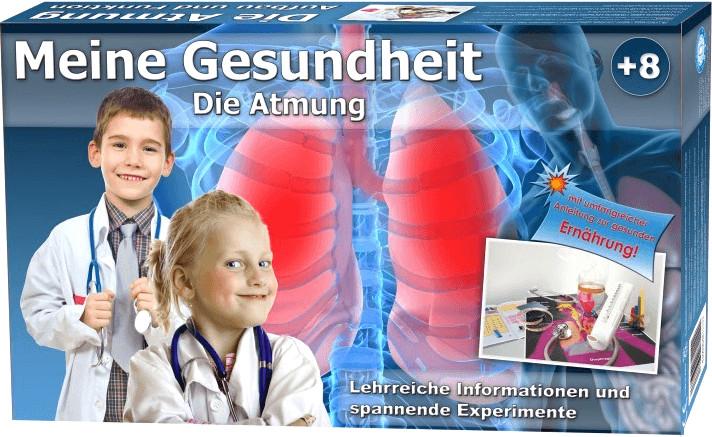 EDU-Toys Lern- und Experimentierset Meine Gesundheit: Die Atmung