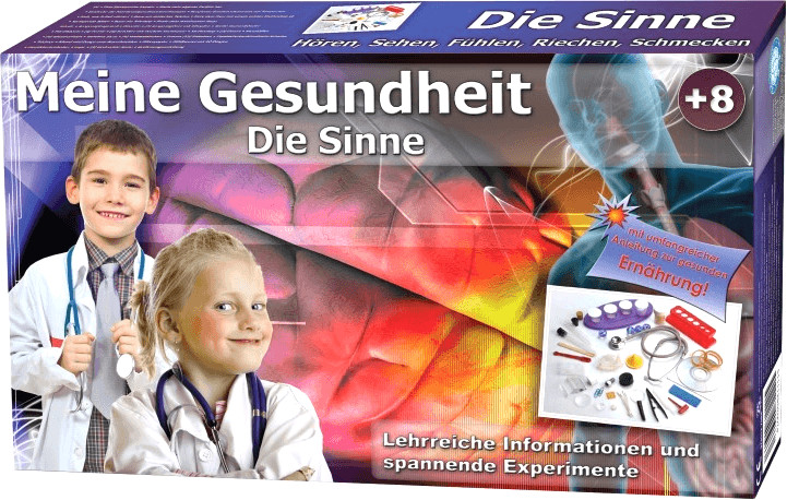 EDU-Toys Lern- und Experimentierset Meine Gesundheit: Die Sinne