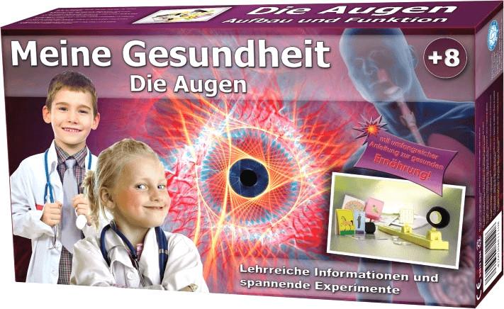 EDU-Toys Lern- und Experimentierset Meine Gesundheit: Die Augen