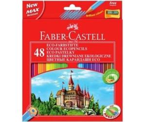 FABER-CASTELL Hexagonal-Buntstifte Malstifte CASTLE 24er Kartonetui