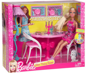 barbie geschenkset m bel puppe esszimmer x7942 ab 15 99 preisvergleich bei. Black Bedroom Furniture Sets. Home Design Ideas