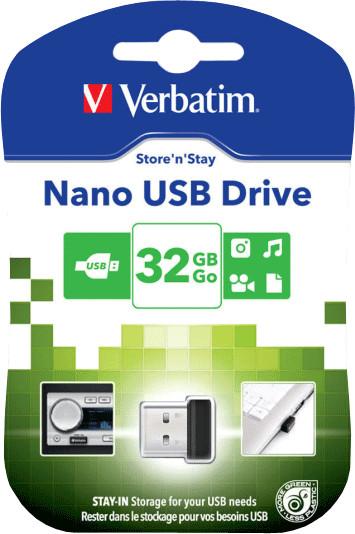 Verbatim Store ´n´ Stay Nano USB 2.0 32GB