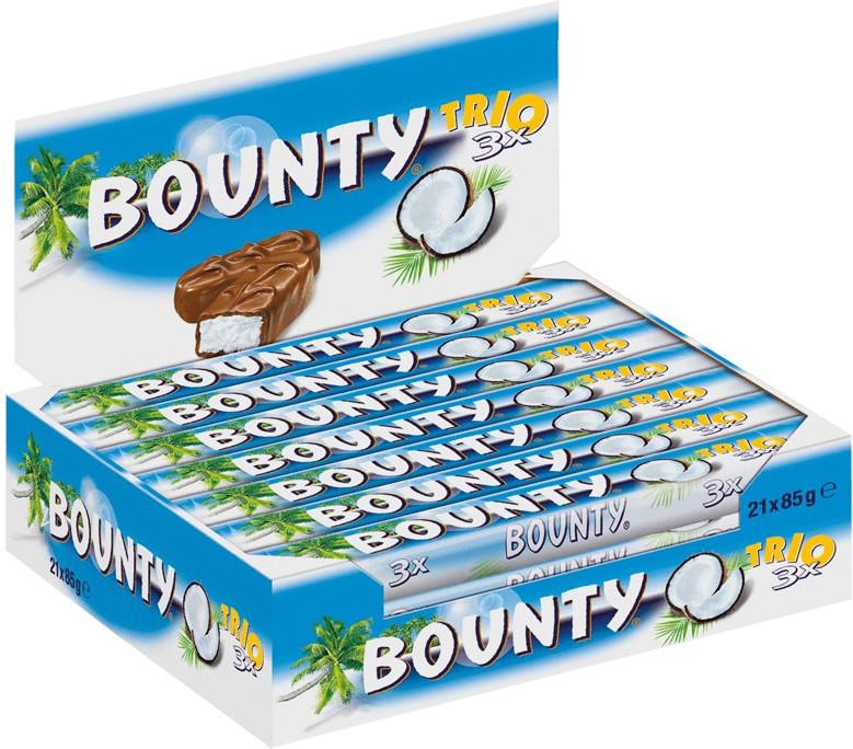 Bounty Trio (21 x 85 g)