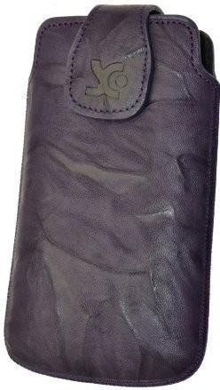 SunCase Funda Wash violeta oscuro (Samsung Galaxy Nexus)