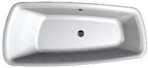 Laufen Palomba assymetrische Badewanne 180 x 80 cm