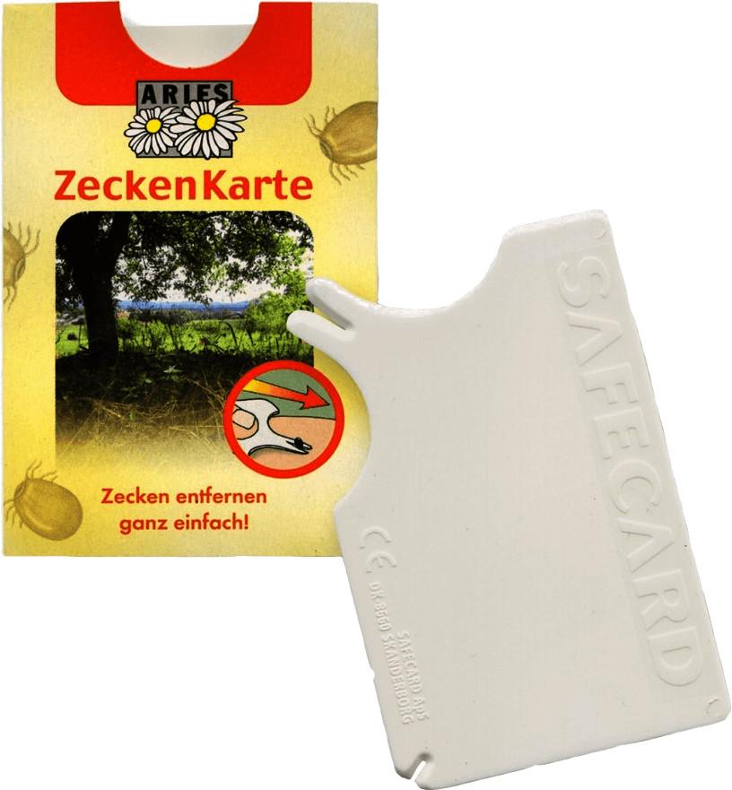 Aries Zeckenkarte