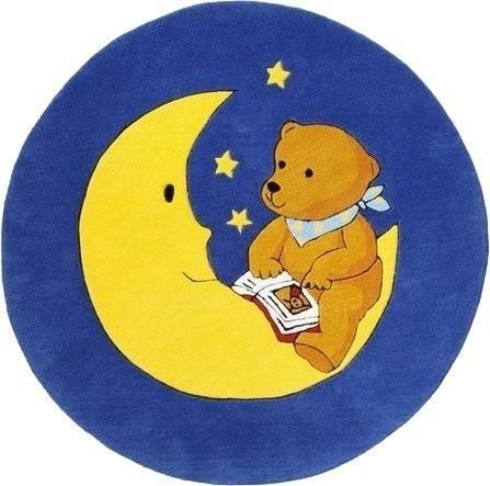 Baby Walz Teppich Mondbär (130 cm rund)