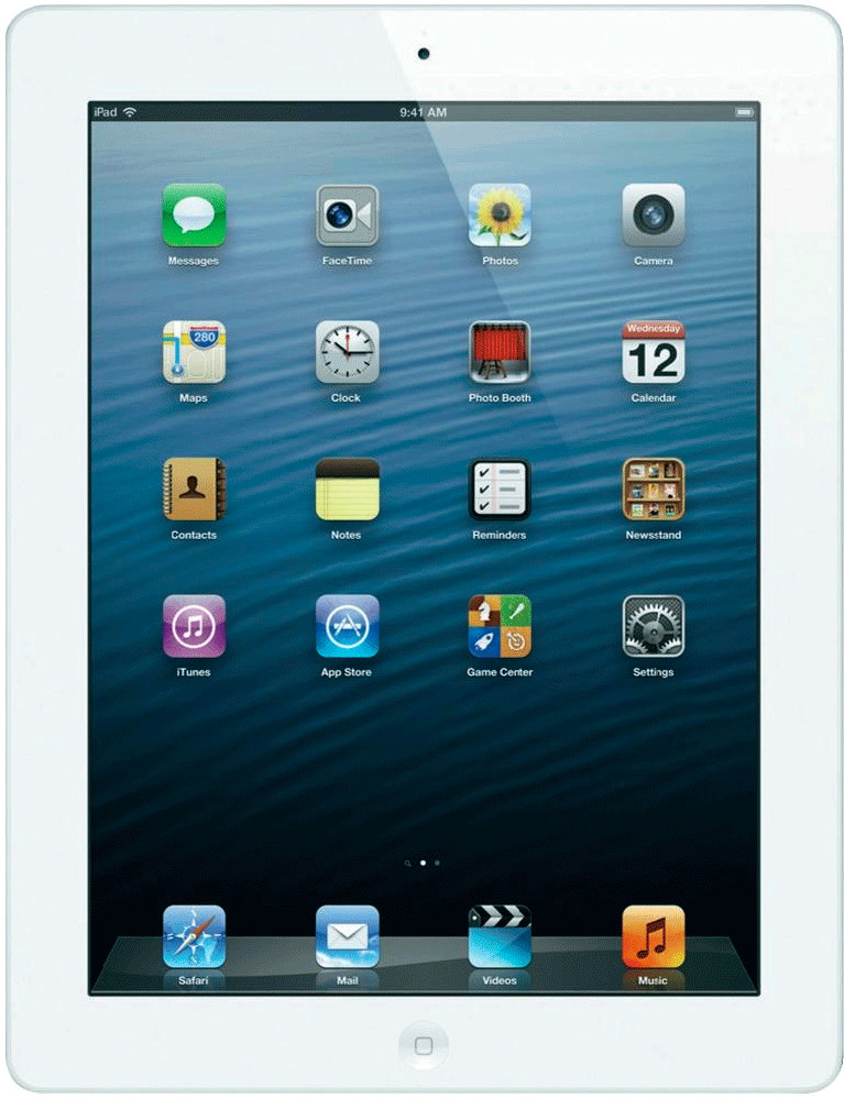 Apple iPad 4 128GB WiFi + 4G weiß