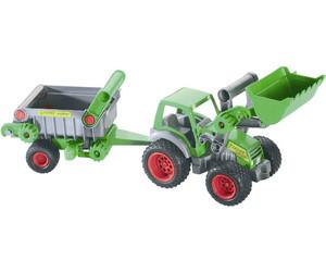 wader farmer traktor mit frontlader und kipper 39172 ab. Black Bedroom Furniture Sets. Home Design Ideas