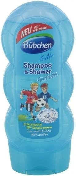 Bübchen Kids Shampoo + Shower Sport´n´Fun (230ml)