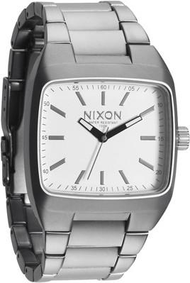 Nixon The Manual II Sanded Steel/White